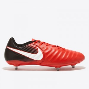 Nike Tiempo Ligera IV Soft Ground Football Boots – Red