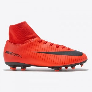 Nike Mercurial Victory VI Dynamic Fit Firm Ground Football Boots – Red