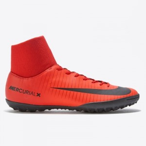 Nike Mercurial Victory VI Dynamic Fit Astroturf Trainers – Red