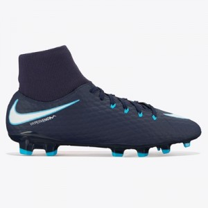 Nike Hypervenom Phelon III Dynamic Fit Firm Ground Football Boots – Bl