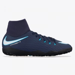 Nike Hypervenom Phelon III Dynamic Fit Astroturf Trainers – Blue