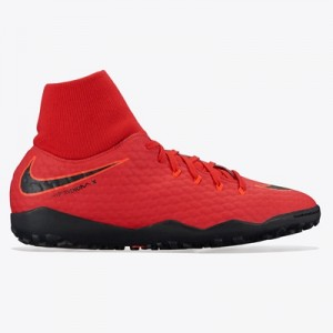 Nike Hypervenom Phelon IIII Dynamic Fit Astroturf Trainers – Red