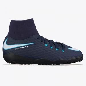 Nike Hypervenom Phelon III Dynamic Fit Astroturf Trainers – Blue – Kid