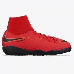 Nike Hypervenom Phelon IIII Dynamic Fit Astroturf Trainers – Red – Kid