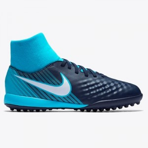 Nike Magista Onda II Dynamic Fit Astroturf Trainers – Blue – Kids
