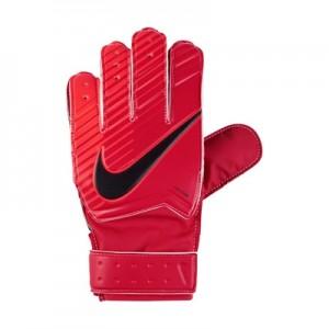 Nike Match Goalkeeper Football Gloves – Red – Kids