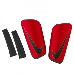 Nike Mercurial Hardshell Shinguards – Red