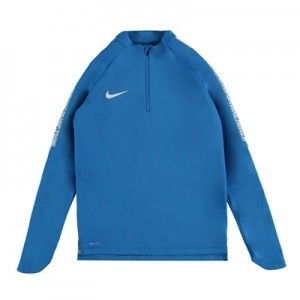 Nike CR7 Shield Squad Drill Top – Italy Blue/White/White – Kids