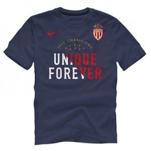 AS Monaco League Champions 2017 T-Shirt