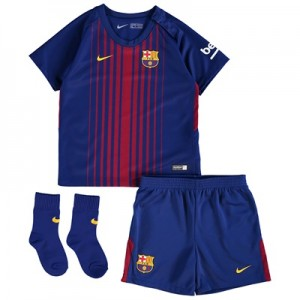 Barcelona Home Stadium Kit 2017/18 – Infants – Unsponsored