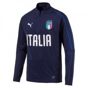 Italy Training 1/4 Zip Top – Navy