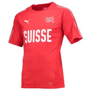 Switzerland Training Jersey – Red