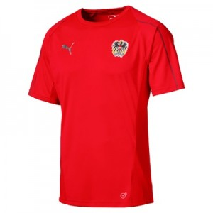 Austria Training Jersey – Red