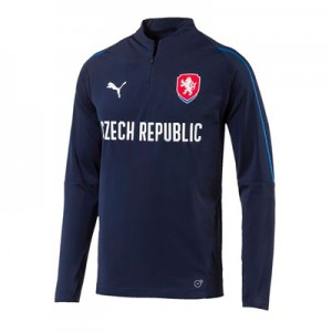 Czech Republic Training 1/4 Zip Top – Navy