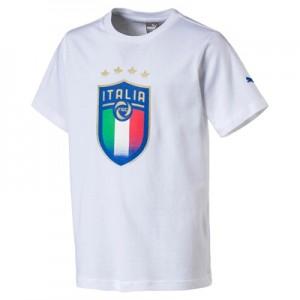 Italy Badge T-Shirt – White – Kids