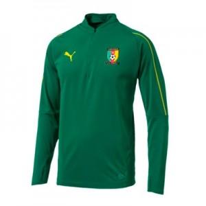 Cameroon Training 1/4 Zip Top – Green