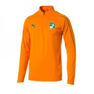 Ivory Coast Training 1/4 Zip Top – Orange