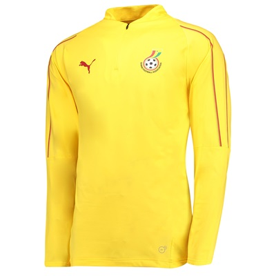 Ghana Training 1/4 Top – Yellow