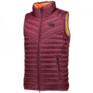 Barcelona Authentic Down Vest – Maroon