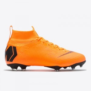 Nike Mercurial Superfly 6 Elite Firm Ground Football Boots – Orange –