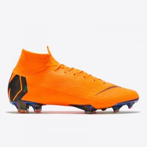 Nike Mercurial Superfly 6 Elite Firm Ground Football Boots – Orange