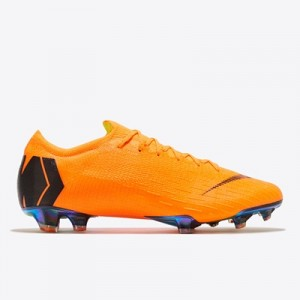 Nike Mercurial Vapor 12 Elite Firm Ground Football Boots – Orange
