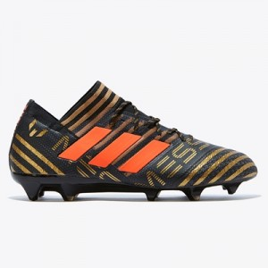 adidas Nemeziz Messi 17.1 Firm Ground Football Boots – Black