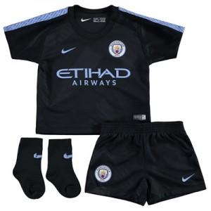 Manchester City Third Stadium Kit 2017-18 – Infants