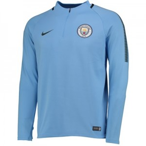 Manchester City Squad Drill Top – Light Blue
