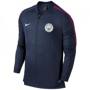 Manchester City Squad Track Jacket – Navy