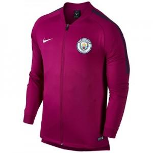 Manchester City Squad Track Jacket – Maroon