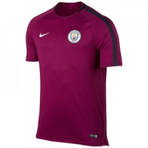 Manchester City Squad Training Top – Maroon – Kids