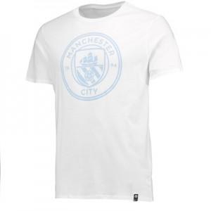 Manchester City Crest T-Shirt – White