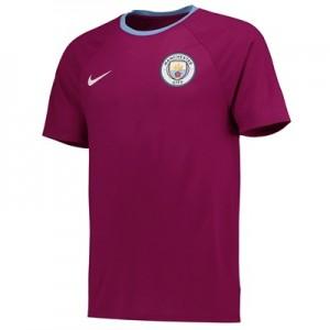 Manchester City Match T-Shirt – Maroon