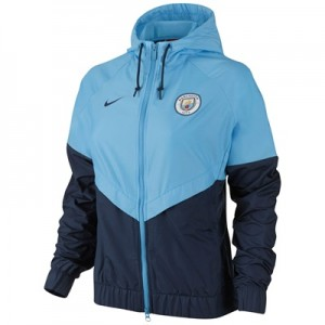 Manchester City Authentic Windrunner – Navy – Womens