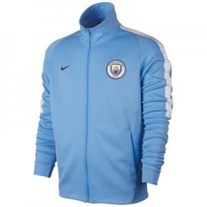 Manchester City Franchise Jacket – Light Blue