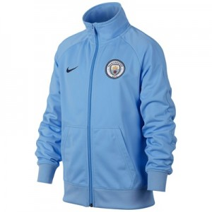 Manchester City Core Track Jacket – Light Blue – Kids