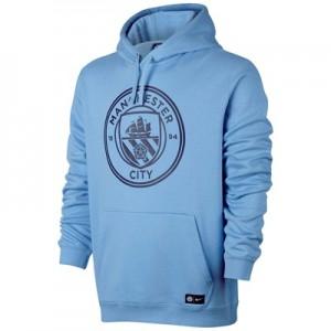 Manchester City Core Hoodie – Light Blue