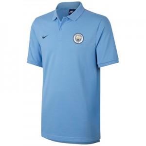 Manchester City Core Polo – Light Blue