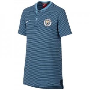 Manchester City Authentic Grand Slam Polo – Light Blue – Kids