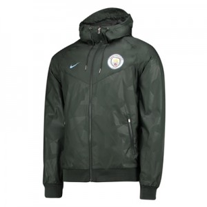 Manchester City Authentic Windrunner – Green