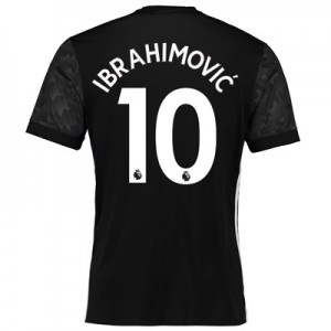 Manchester United Away Shirt 2017-18 with Ibrahimovic 10 printing