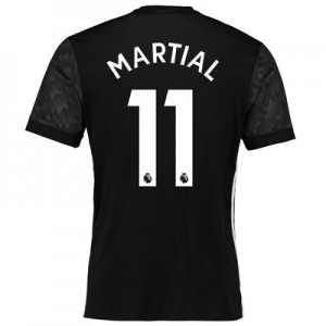 Manchester United Away Shirt 2017-18 with Martial 11 printing