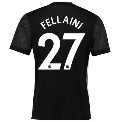 Manchester United Away Shirt 2017-18 with Fellaini 27 printing