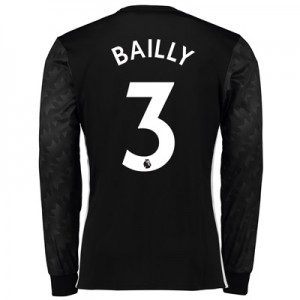 Manchester United Away Shirt 2017-18 – Long Sleeve with Bailly 3 print
