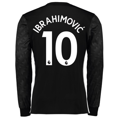 Manchester United Away Shirt 2017-18 – Long Sleeve with Ibrahimovic 10