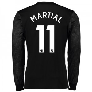 Manchester United Away Shirt 2017-18 – Long Sleeve with Martial 11 pri