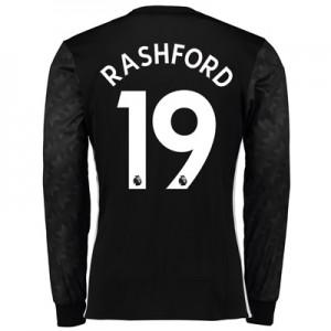 Manchester United Away Shirt 2017-18 – Long Sleeve with Rashford 19 pr