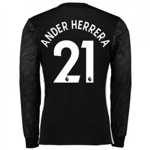 Manchester United Away Shirt 2017-18 – Long Sleeve with Ander Herrera