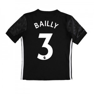 Manchester United Away Shirt 2017-18 – Kids with Bailly 3 printing